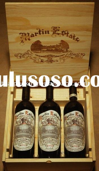 Wooden Wine Box/Wine case/liquor box/Wooden box/Wooden packing box
