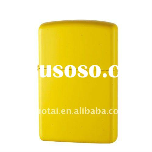 Yellow Spray Painting Oil Lighter