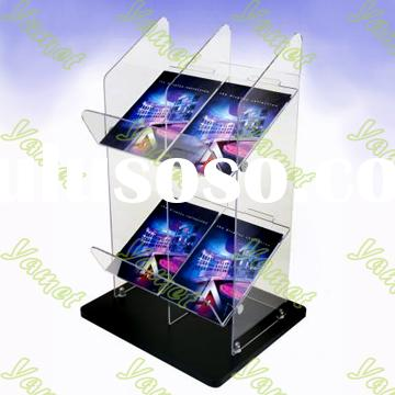 acrylic Magazine or Tabloid Display Stand,acrylic products, acrylic holder