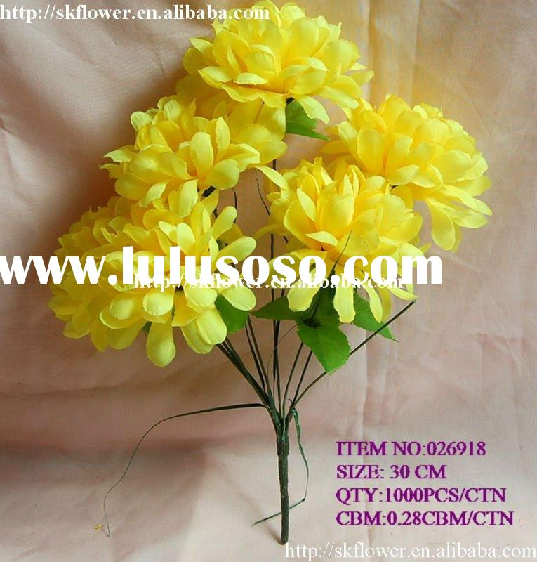 how to clean artificial fabric flowers