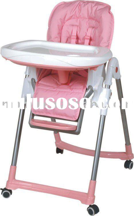 baby high chair with rotational wheels