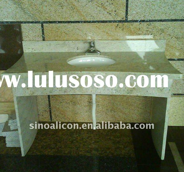beautiful river white granite vanity tops