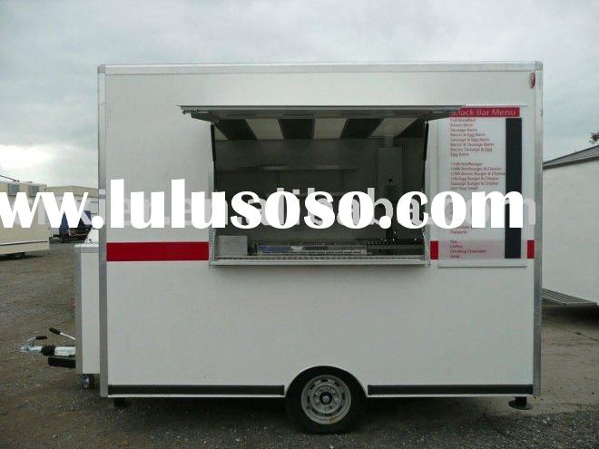 cargo box van trailer/Mobile Dining Trailers/Dining car trailer/semi-trailer/