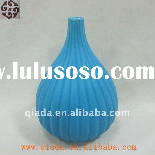 ceramic blue and white porcelain vase