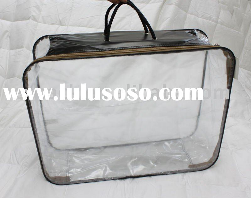 clear plastic zipper bag,bag with zipper
