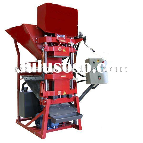 compressed earth brick block making machine in africa SY-4