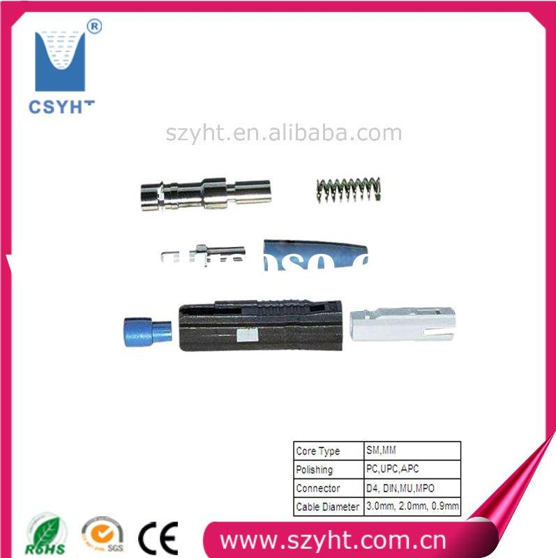 fiber optical cable MU connector/fiber optic patch cord