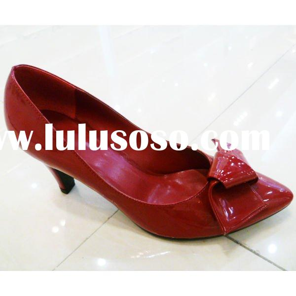 heeled red dress shoes, pumps shoes, party shoes