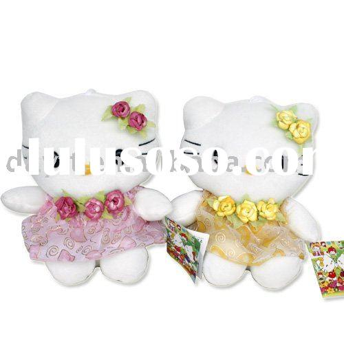 hello kitty plush doll set(2pcs)T5201 wholesale & dropshipping&OEM