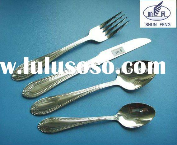 high quality stainless steel flatware