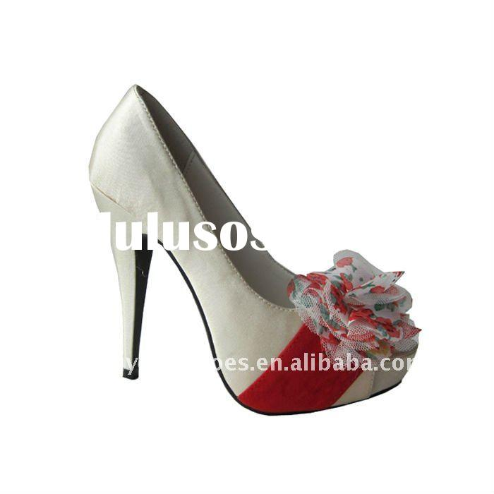ladies high heel shoes for party dress