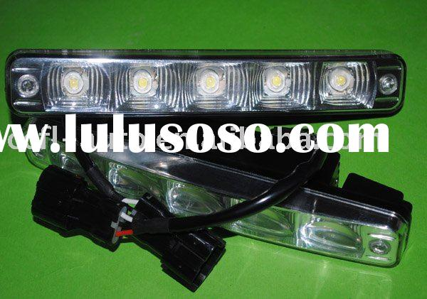 led auto lamp day running light 5W high power led DRL 12V 24V DC