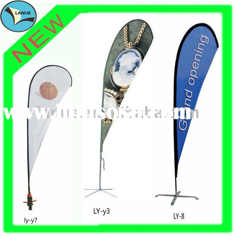 newly outdoor advertising Promotional And Fashional flying Banner,High quality Beach flag,feather fl