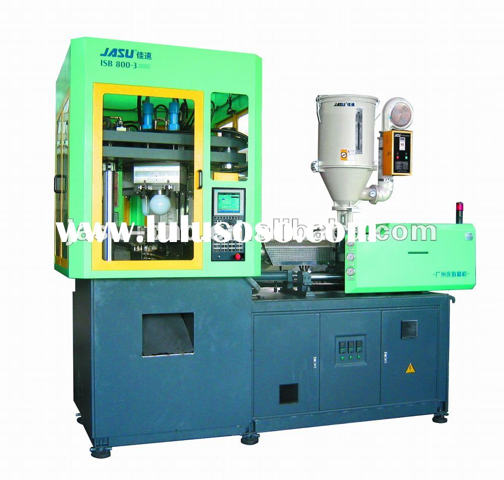 one step injection blow moulding machine(IBM)plastic blow molding machine PP baby feeding bottle blo