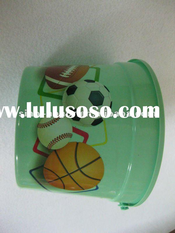 plastic bucket decoration,plastic barrel,plastic sundries tools