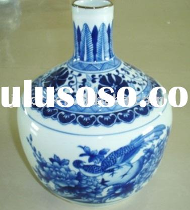 porcelain & ceramic ware,blue and white porcelain vase