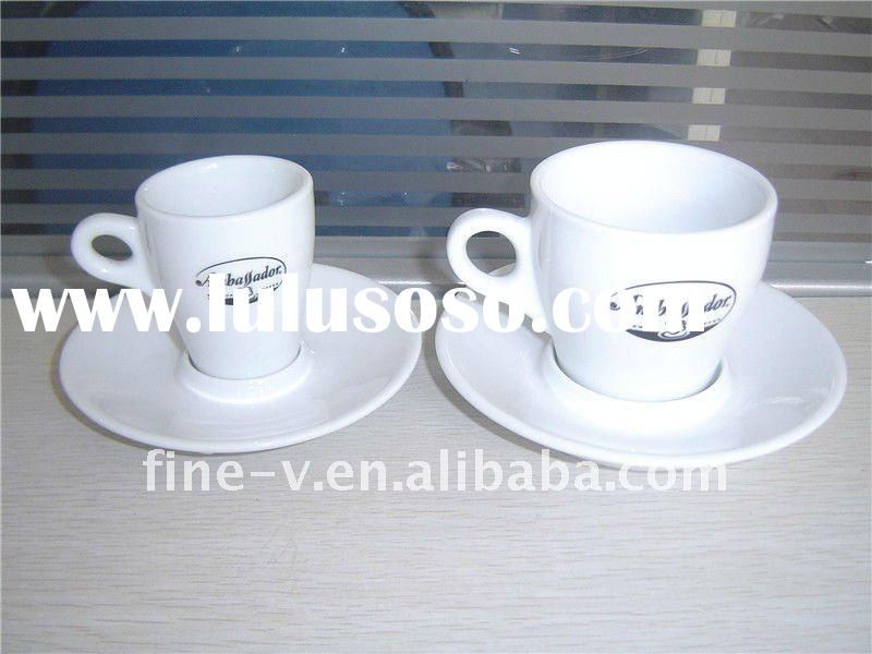 porcelain espresso and cappuccino cup&saucer
