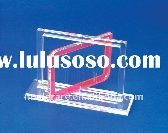 rotating acrylic photo frame stand, acrylic picture frame