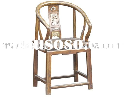 round-backed armchair, classical chair, antique furniture