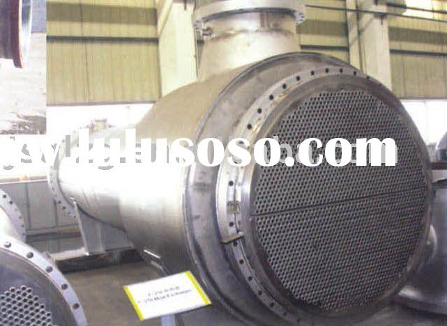 shell and tube stainless steel heat exchanger