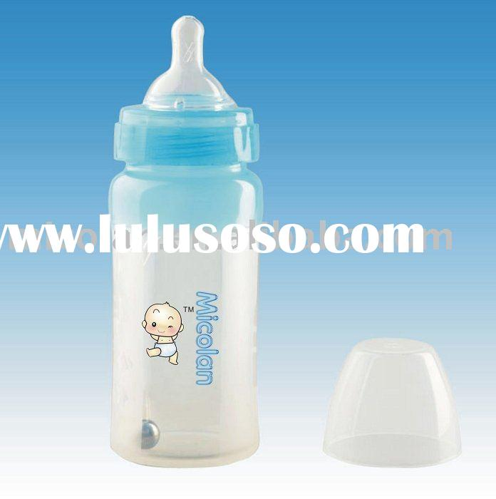 silicone baby bottle,baby nipple, baby feeding,BPA free bottle