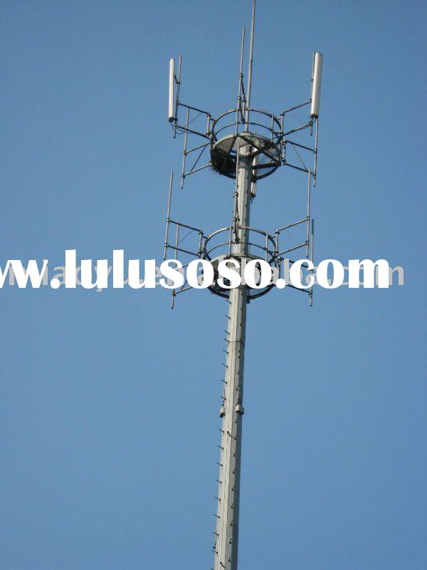 telescopic communication masts