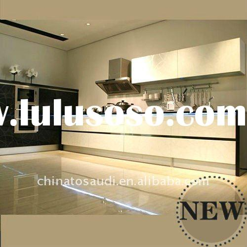 top quality aluminium kitchen cabinet stainless steel kitchen cabinet solid wood kitchen cabinet