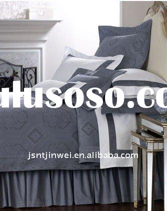twill 133x72 100% cotton solid bed sheet
