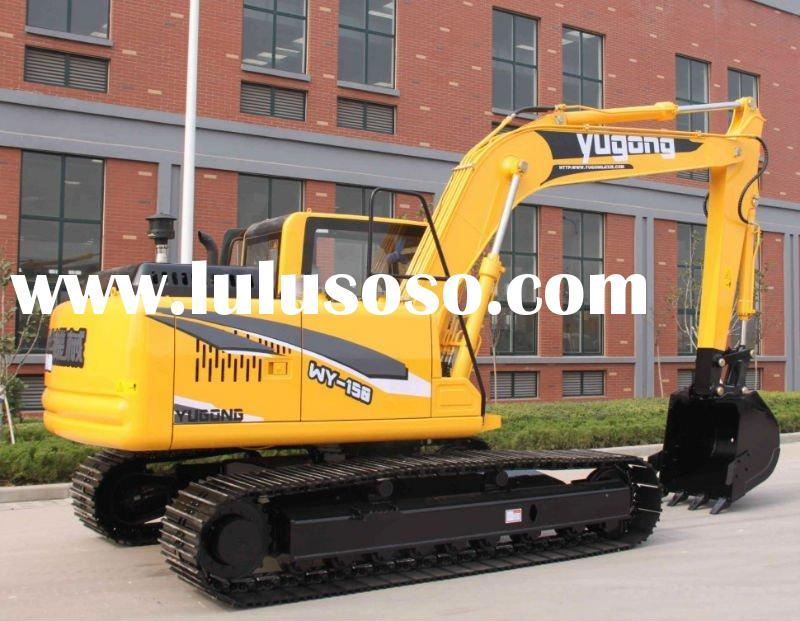 15ton crawl erexcavator withlow price mini excavator/digger for sale