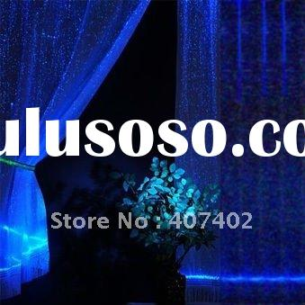 1.6*2.5M magic curtain,fantasy Luminous Translucent curtain,curtain fabric,shower curtain