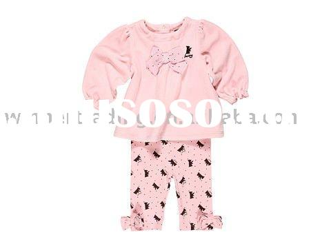 2011 newest kids clothing sets