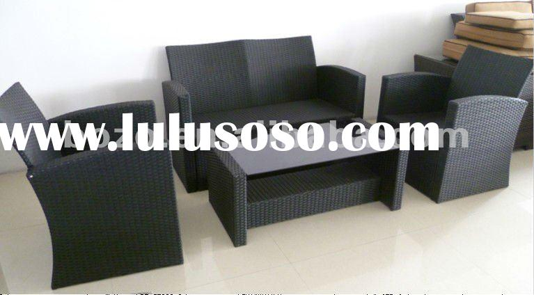 2012 Cheap Outdoor Patio Wicker Sofa Set