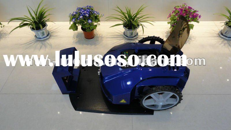 2012 Newest LCD robotic lawn mower (intelligent lawn mower,robot lawn mower)