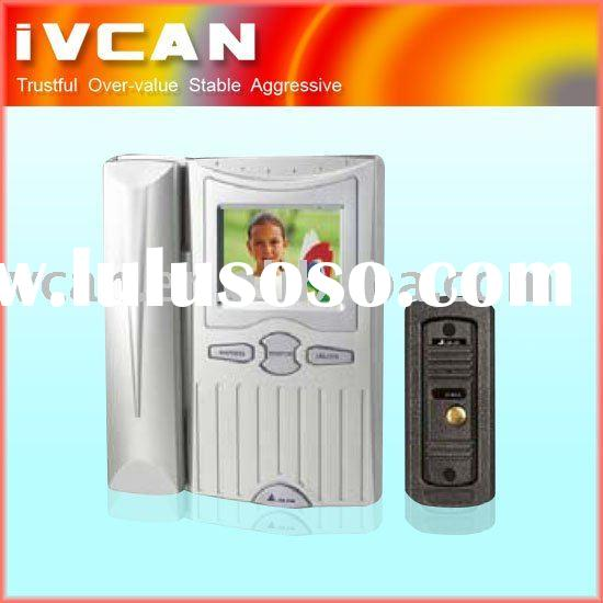 3.5 inch video door phone,office intercom system,color video door phone