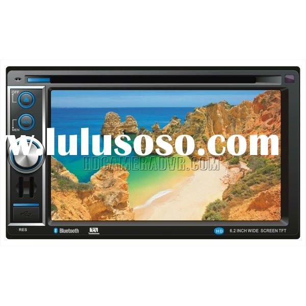 "6.2"" digital panel in car dvd with GPS Bluetooth and hand free function(6209)"