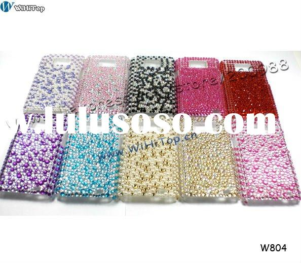 Bling Bling Crystal Case for Samsung Galaxy S2 I9100. Rhinestone Case for Galaxy S2. Different Desig