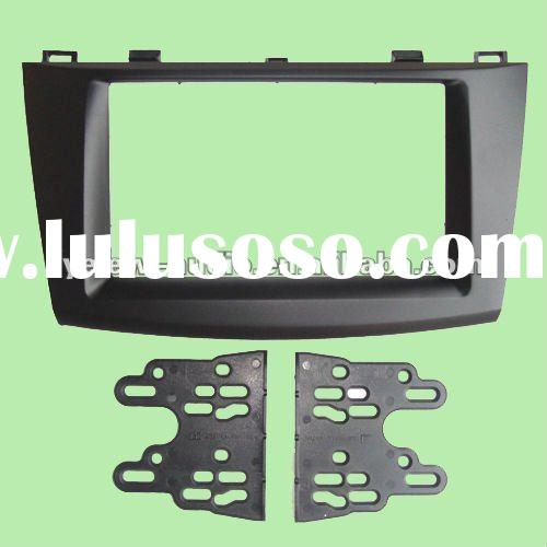Double Din Car Audio Frame,DVD Panel,Dash Kit,Fascia,Stereo Kit for 2010 Mazda 3