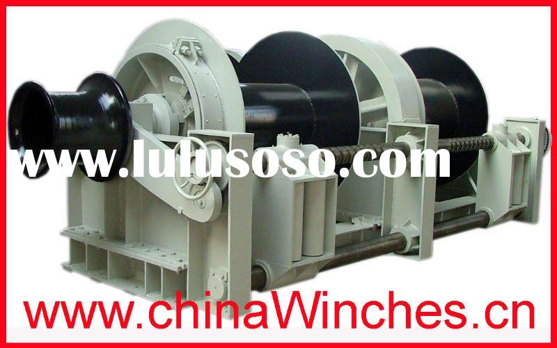 Double Drum Electric Marine Winch and Mooring Deck Winch