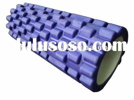 Foam Roller with PVC Core /yoga fitness set