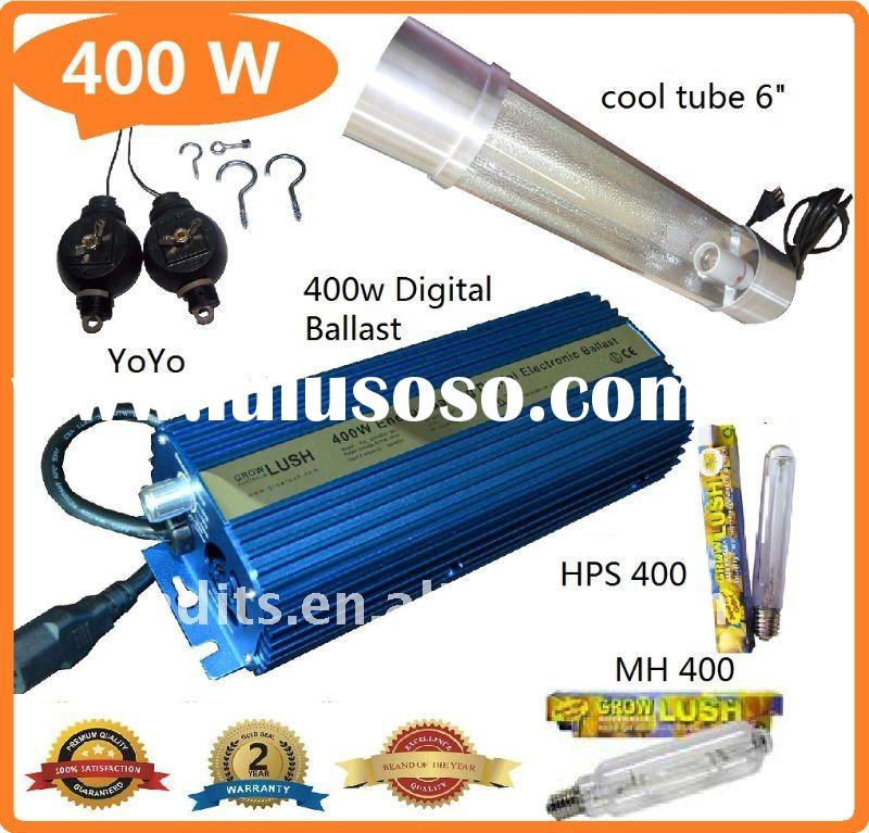 "HID ballast 400w digital Cool tube 6"" Grow Light kits"