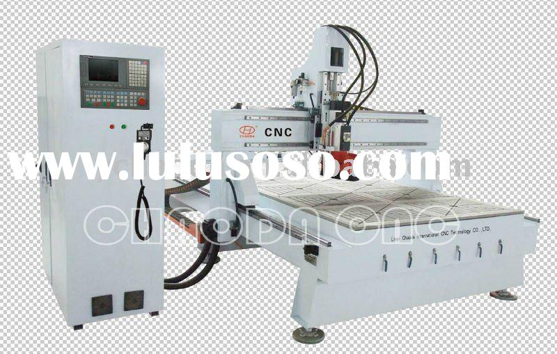 Linear ATC 9KW Italy HSD Servo Wood CNC Router