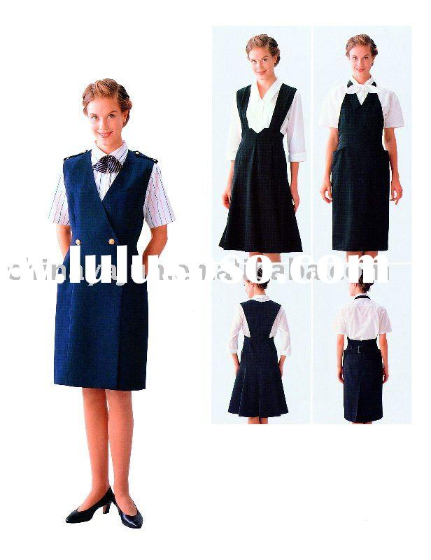 Maid uniforms for hotel workers