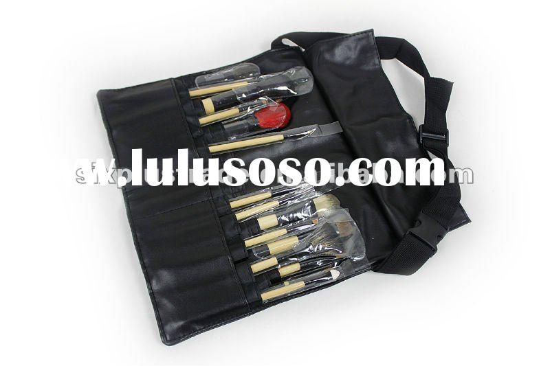NEW 16 Pcs Pro MAKEUP ARTIST BRUSH with TOOL BELT APRON
