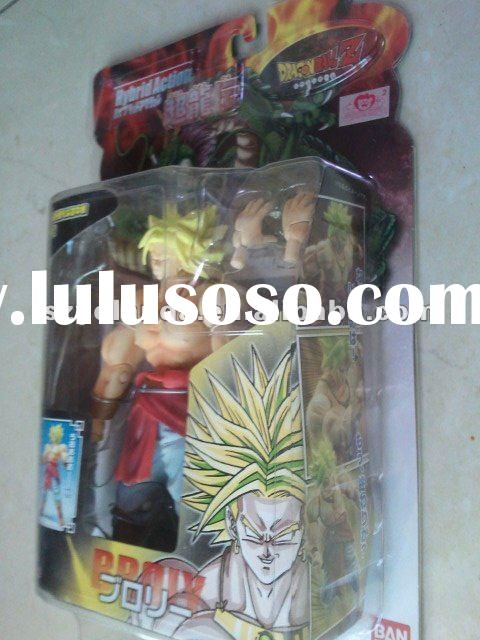 Original BANDAI DragonBall Z Hybrid SS BROLY Action Figure DBZ new in box