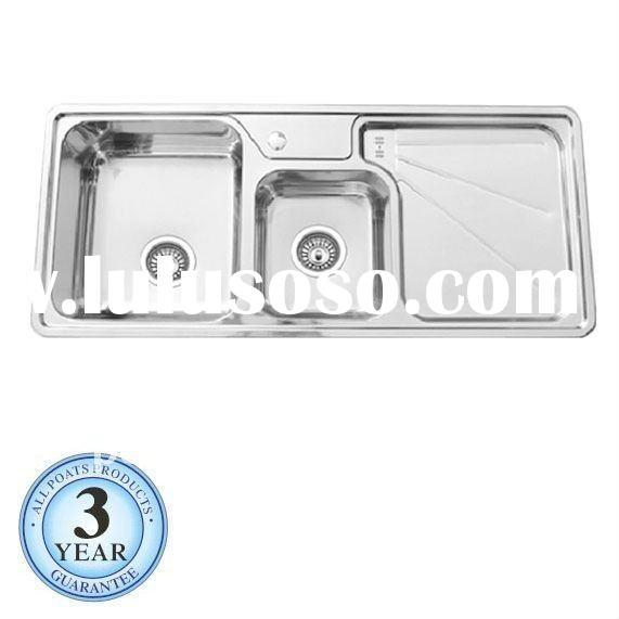 PS-360 Stainless Steel Kitchen Sink with Double Bowl