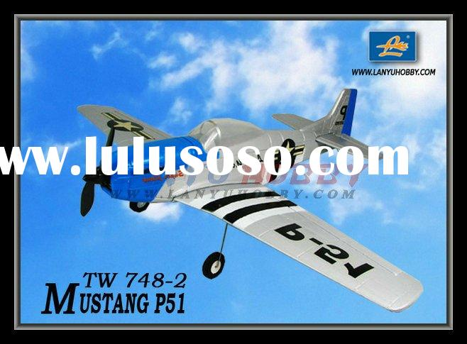 P-51 Mustang TW 748-2 rc model plane
