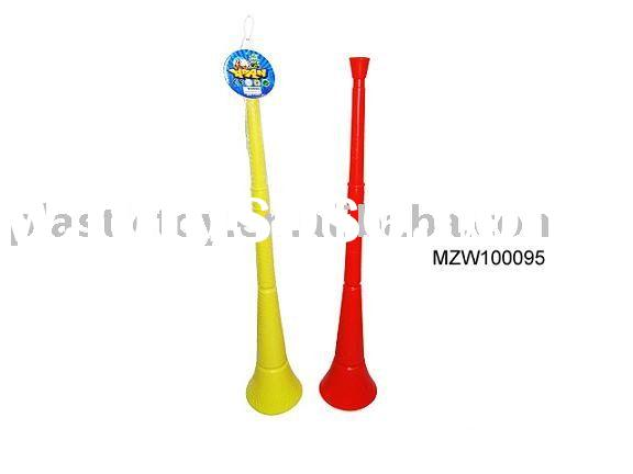 Plastic trumpet MZW100095,sport game,horn toy,promotional toy