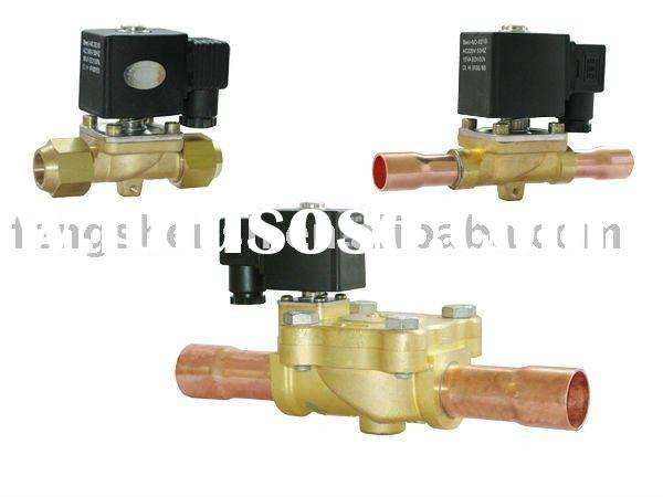 Two-way bi-flow brass electromagnetic Solenoid valve