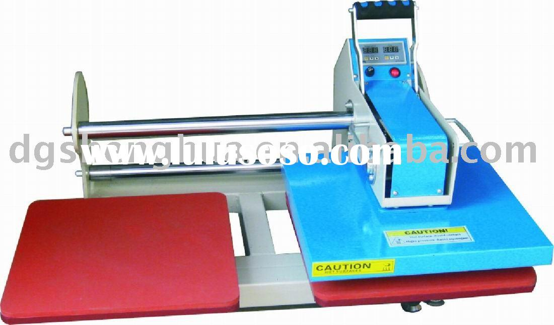 Up slide Pneumatic Double-location Heat Press Machine for T-shirt