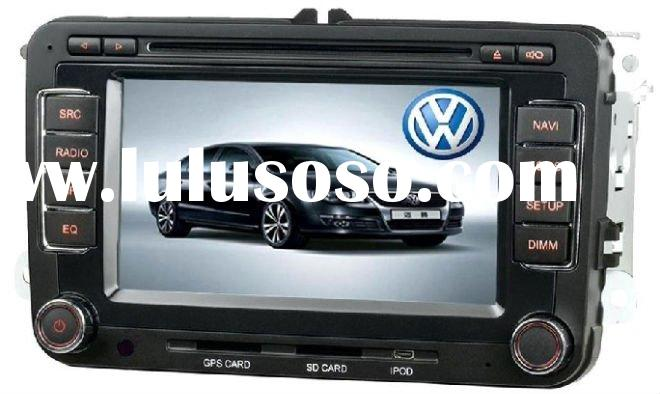 VW Golf 5 car dvd player with car gps navigation system
